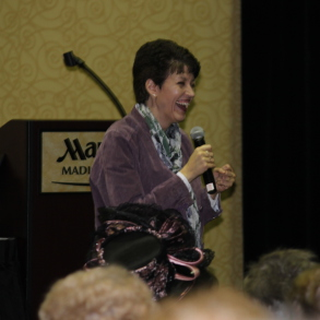 Motivational Speaker Heather Whittaker at Middleton Marriott