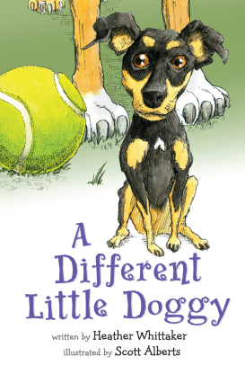 A Different Little Doggy Children's Book teaching diversity and acceptance