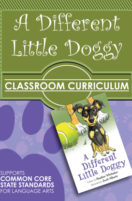 A Different Little Doggy Classroom Curriculum teaching diversity and acceptance